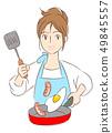 一個女人做飯 49845557