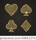 Classical Suit of playing cards. Illustration with 49852274