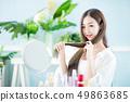 Beauty woman hair care concept 49863685