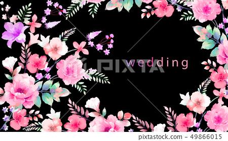 Elegant roses and peony 49866015