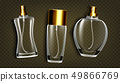 Perfumery Products, Toilet Water Mockup Vector Set 49866769