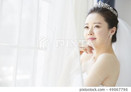 여성 신부 49867798