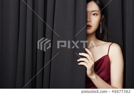 여성 미용 49877362