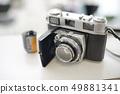 經典電影攝影機燙髮股票照片 49881341