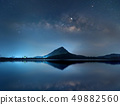 Night sky with stars and The Milky Way 49882560