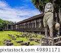 Ruins of Angkor Wat Temple, Siem Reap, Cambodia  49891171