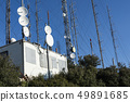 Communication towers, antennas and dishes 49891685