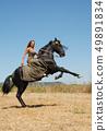 riding girl 49891834