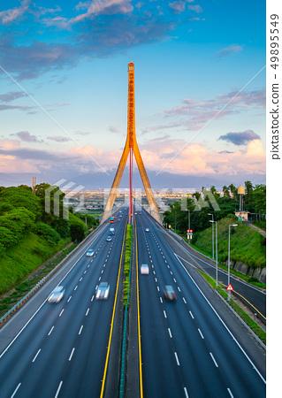 台灣高雄高屏溪斜張橋Kaohsiung Bridge, Asia, Taiwan 49895549