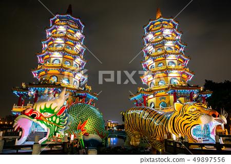 台灣高雄左營蓮池潭Asia Taiwan Kaohsiung Lake 49897556