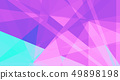 Abstract triangle shape geometric background 49898198