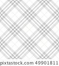 Tartan Seamless Pattern Background in Pastel Grey, 49901811