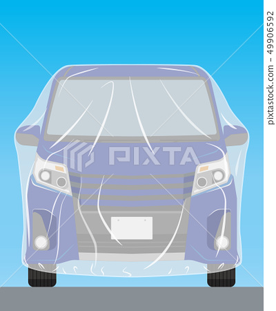 Exterior wall painting series My car 49906592