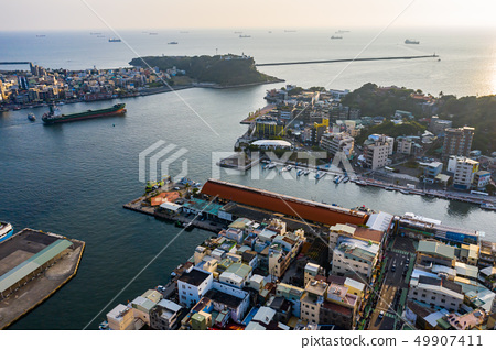 臺灣高雄港旗津燈塔景色Kaohsiung Harbor View, Asia, Taiwan 49907411