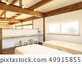 애완 동물 동거 형 디자이너 주택의 세련된 침실 49915855