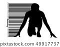男性 男 跑步 49917737
