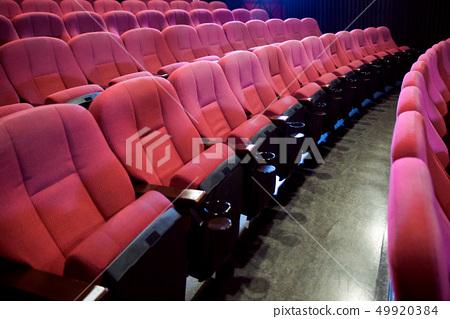 劇院座位(沒有人) 49920384