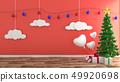 Christmas decorations room design 49920698