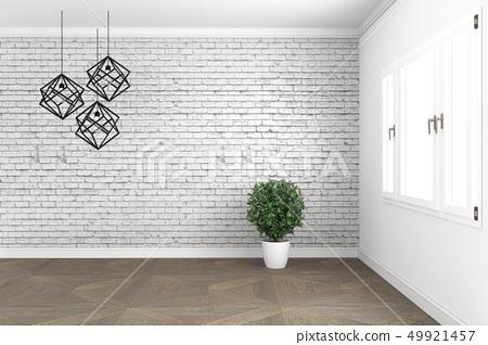 Empty white concept - Beautiful room 49921457