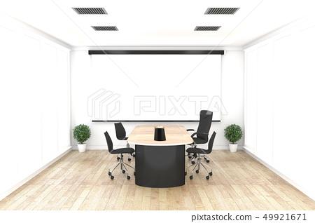 Office business - beautiful boardroom meeting  49921671