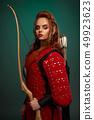 warrior, arrows, costume 49923623