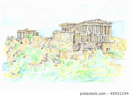 세계 유산의 거리 · 그리스 아크로 폴리스 49932294
