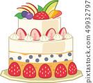 水果蛋糕 49932797