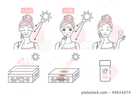 woman with sunscreen 49934874