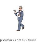 자료를 읽으면서 회의실에가는 샐러리맨 49936441