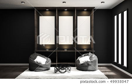 Japanese style empty room design 49938047