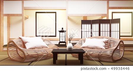 BIg roominterior design in modern living room 49938446