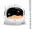 space helmet vector concept 49939999