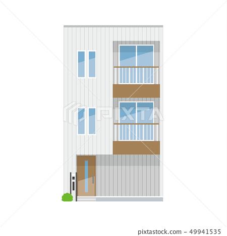 外牆繪畫系列我的家 49941535