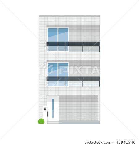 外牆繪畫系列我的家 49941540