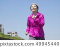 여성 달리기 49945440