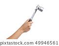 Woman hand holding a ratchet 49946561