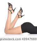 woman, feet, foot 49947689