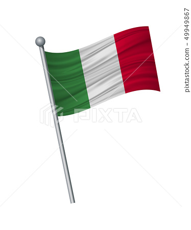 waving of flag on flagpole, Official colors and 49949867