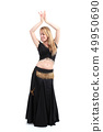 Belly dancer dancing 49950690