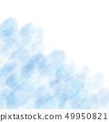 Watercolor texture background faint blue 49950821