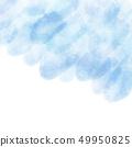 Watercolor texture background faint blue 49950825