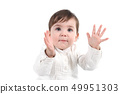 Baby clapping happy 49951303