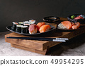 Sushi Set nigiri and sushi rolls 49954295