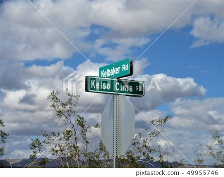 California Kelso Ghost Town Road Sign 49955746