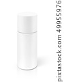 cosmetic serum bottle isolated on white background 49955976