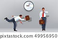 clock businessman 05 49956950