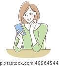 Mobile phone ladies 49964544