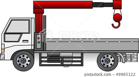 Crane car 49965122