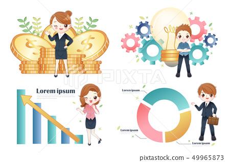 finance and business teamwork 49965873