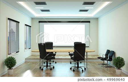 Office business - beautiful boardroom meeting room 49969640